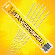 25 cm Sparklers (Pack of 5); Bulk buys available